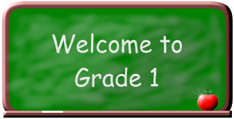 1st grade welcome sign